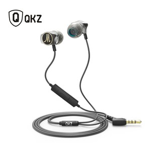 QKZ X10 Zinc Alloy Metal With Noise Cancellation - Headphone
