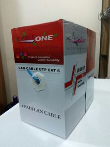 Cable One Utp CAT-6 Cable per box 305 meter