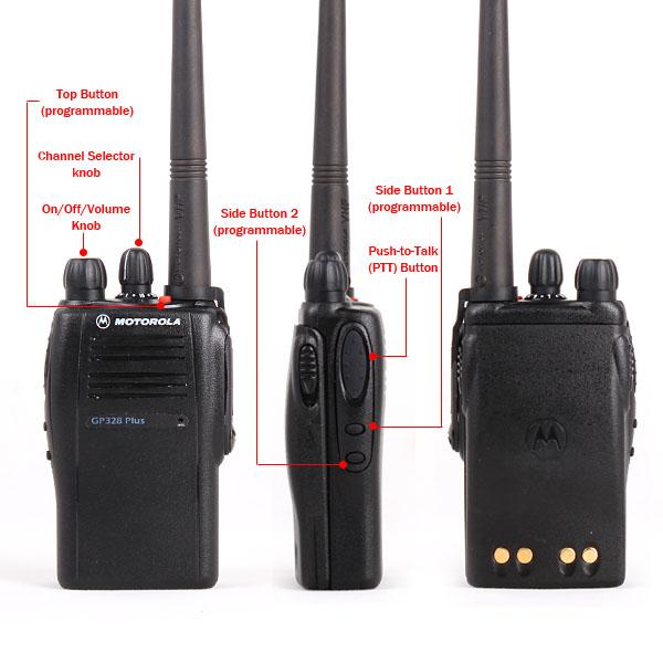 walkie talkie motorola gp328 rh itbazar net Motorola Walkie Talkie Earpiece Motorola HT750 Walkie Talkie