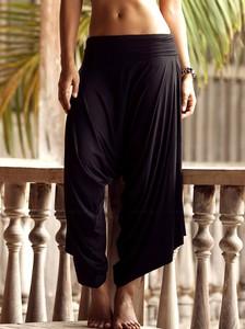 Lovebite Women's Casual Wide Loose Calf-Length Wide Pants