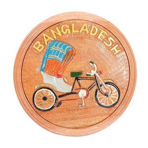 Handcrafted Wooden  Artwork  Rickshaw Showpiece