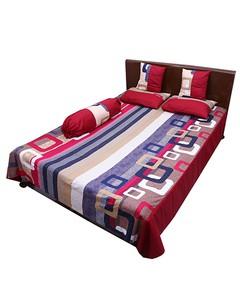 6 pecs smart double size bedcover