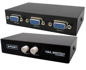 2 Port Manual VGA Splitter