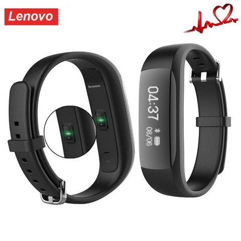 Lenovo HW01 Smart Wristband-BLACK