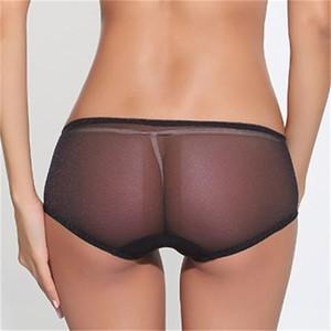 Lovebite Women's Sexy Lace Hollow Transparent Underwear