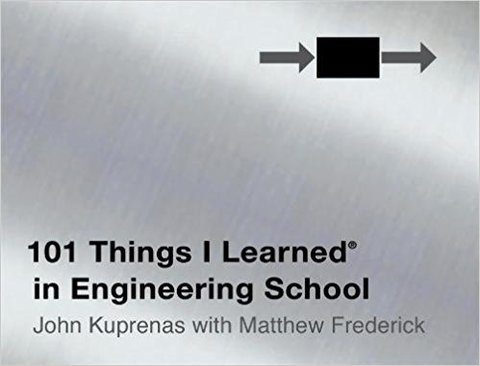 101 Things I Learned ® in Engineering School (Hardcover)