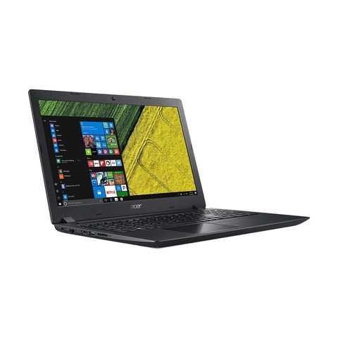 Acer Aspire A315-51 7th Gen Intel Core i3 7130U (2.7GHz, 4GB DDR4, 1TB, NO-ODD) 15.6 Inch Black Notebook #NX.GNPSI.006