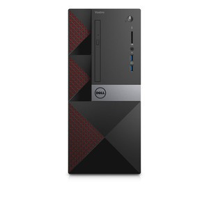 DELL Vostro 3668 7th Gen Intel Core i5 7400 (3.0-3.5GHz, 1x4GB 2400Mhz DDR4, 1TB 7200RPM SATA, DVD-RW) Brand PC with Built-in Dell Wireless 1707 Card