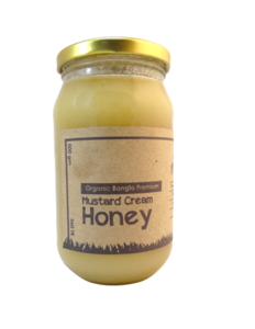 Mustard Cream Honey (Shorisha Honey) - 500gm