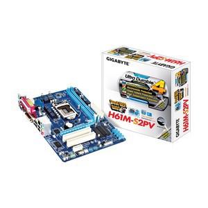 Gigabyte GA-H61M-S2PV-WP DDR3 3rd Gen.LGA1155 Mainboard
