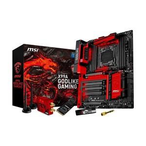 MSI X99A GODLIKE Gaming DDR4 Next Gen. LGA 2011-3 socket Mainboard