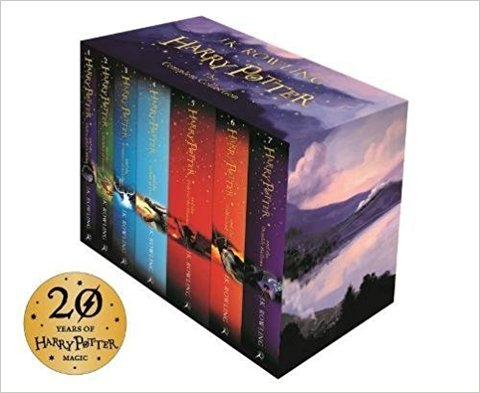 Harry Potter 7 Volume Boxed Set: The Complete Collection