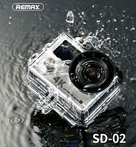 Remax 4k Action Camera with all Accessories