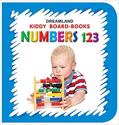 Numbers 123 (Kiddy Board Book)