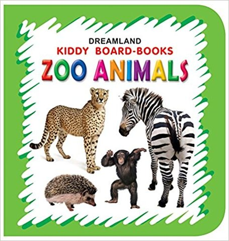 Zoo Animals (Kiddy Board Book)