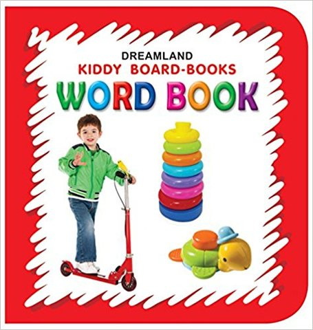 Word Book (Kiddy Board Book)