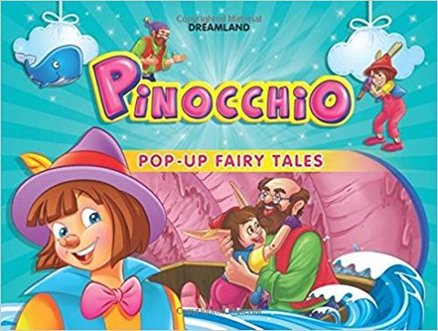 Pinocchio (Pop-Up Fairy Tale Books) (Hardcover)