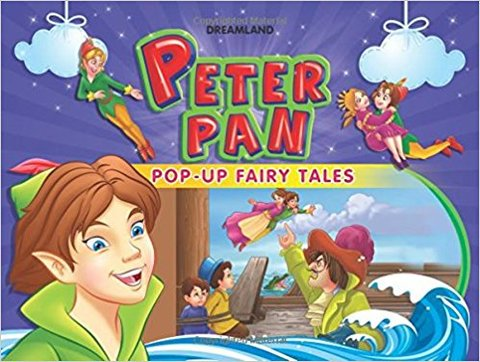 Peter Pan (Pop-Up Fairy Tale Books) (Hardcover)