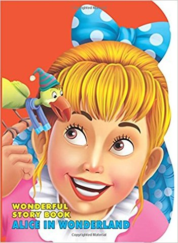 Wonderful Story Board Book - Alice in Wonderland