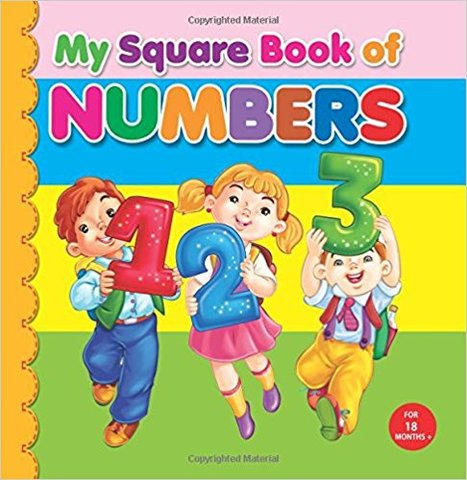 My Square Board Book: Numbers