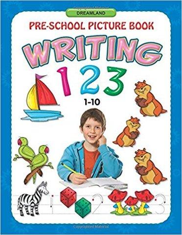Writing 123 (1-10) (Pre-School Picture Books)