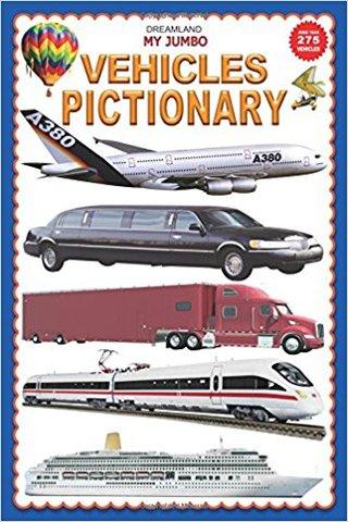 My Jumbo Vehicles Pictionary