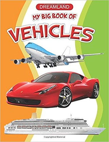 My Big Book of Vehicles