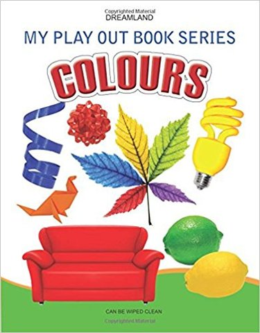 Colours (My Play Out Book)