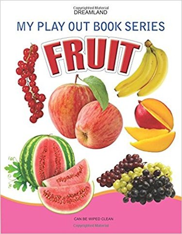 fruits (My Play Out Book)