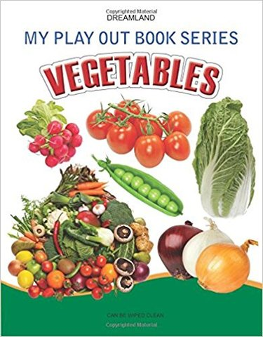 Vegetables (My Play Out Book)