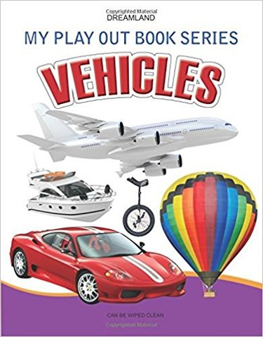 Vehicles (My Play Out Book)
