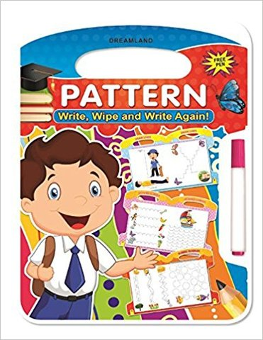Write and Wipe Book: Pattern