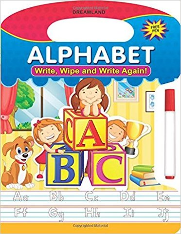 Write, Wipe and Write Again - Alphabets