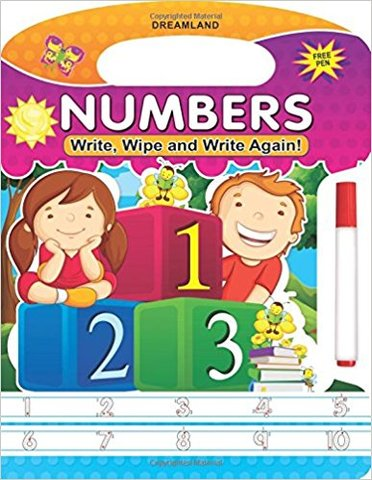 Write, Wipe and Write Again - Numbers
