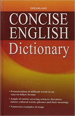 Concise English Dictionary (Hardcover)