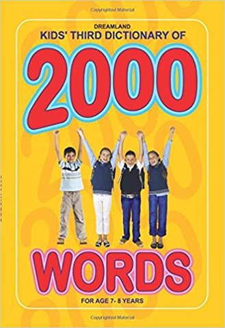 KIDS' THIRD DICTIONARY OF 2000 WORDS (Hardcover)