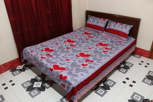 Double Size Bedsheet Set - 3 pieces