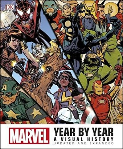 Marvel Year by Year: A Visual History (Hardcover)