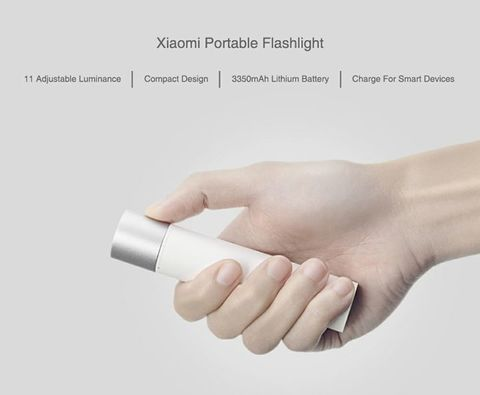 Xiaomi Portable Flashlight 11 Adjustable Luminance Modes With 3350mAh Battery