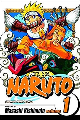 Naruto, Vol. 01: The Tests of the Ninja