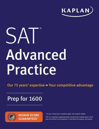 SAT Advanced Practice: Prep for 1600