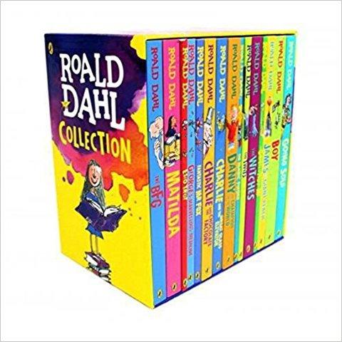 Roald Dahl Phizz-Whizzing Slipcase