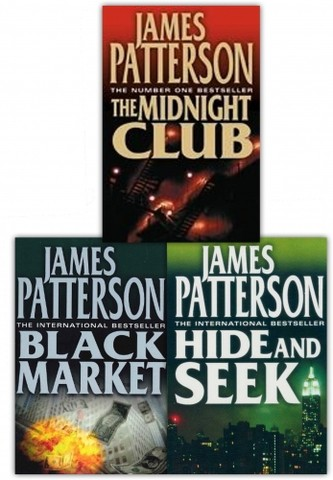 James Patterson Alex Cross Series Collection 3 Books Set