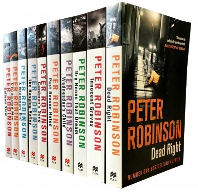 Peter Robinson The Inspector Banks Series 10 Books Collection Set (Series 1)