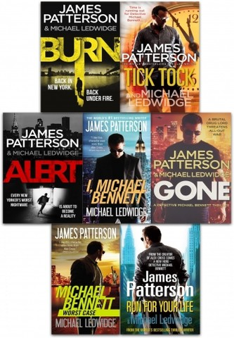 James Patterson Michael Bennett Series Collection 7 Books Set
