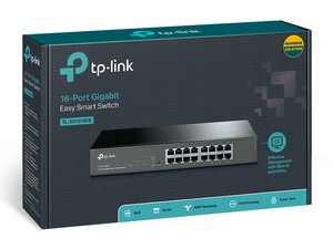 TP LINK 16-Port Gigabit Rackmount Switch TL-SG1016