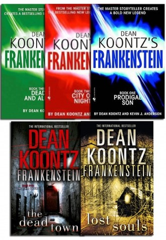 Dean Koontz Frankenstein Series Collection 5 Books Set Pack