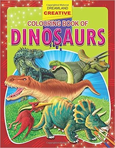 Dinosaurs (Creative Colouring Books)