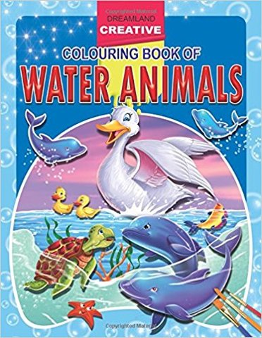 Water Animals (Creative Colouring Books)
