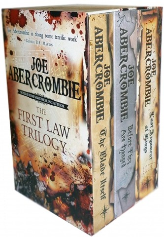 The First Law Trilogy 3 Books Collection Box Set By Joe Abercrombie (The Blade Itself, Before They Are Hanged, Last Argument of Kings)